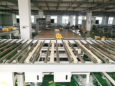 Automatic Mattress Production Machinery Display